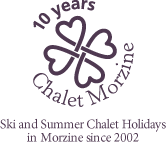 10 years Chalet Morzine