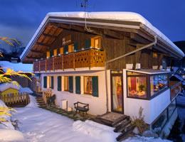 Winter chalet holidays
