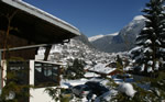 Chalet Morzine winter view