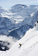Freeriding in the Portes du Soleil