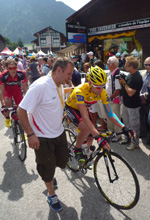 Tour de France in Morzine
