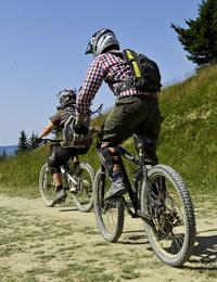 Mountain biking in Morzine-Avoriaz