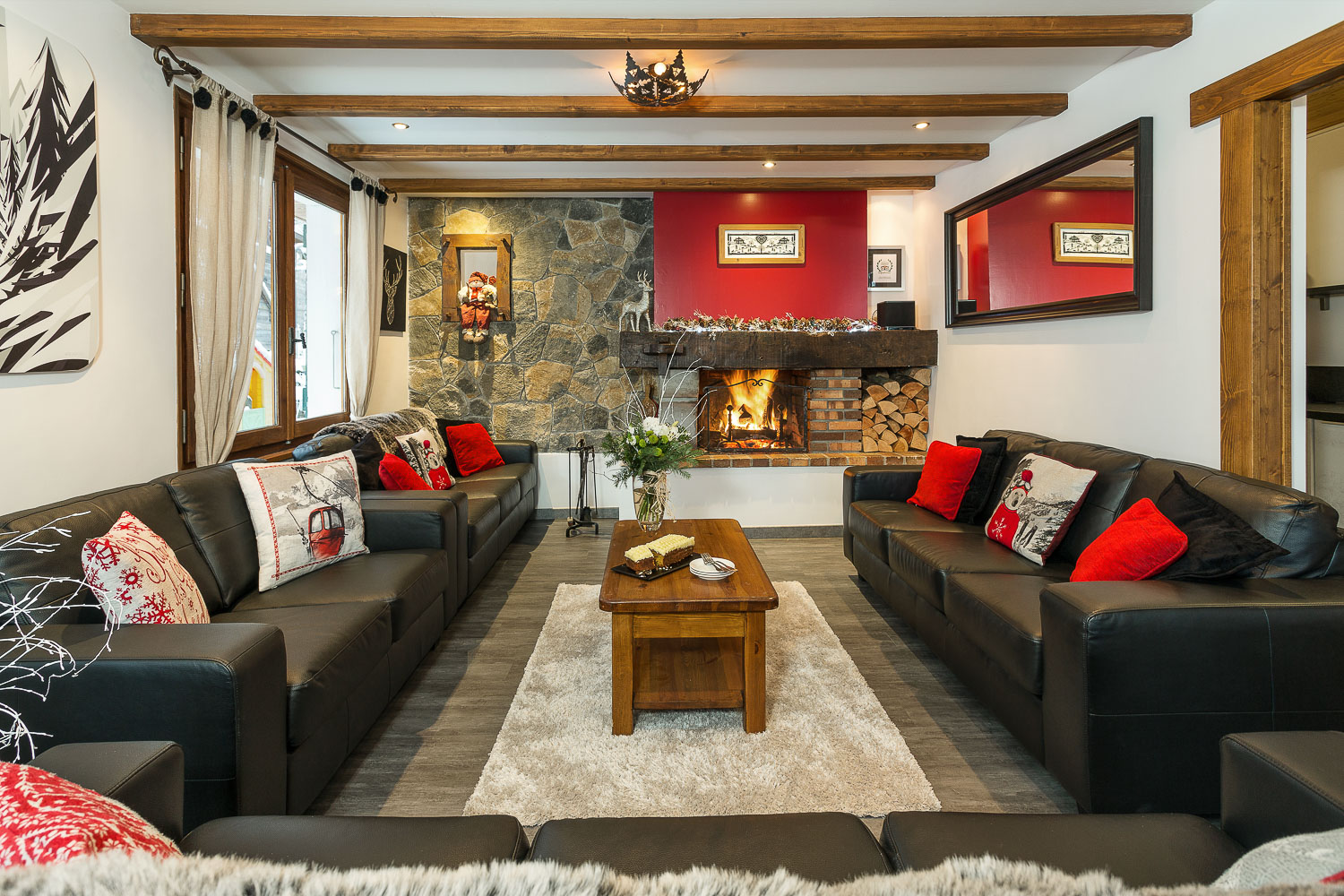 Lounge at Chalet Morzine